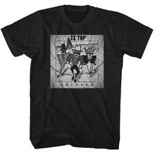 ANTENNA ZZ Top Classic Rock Band Dusty Hill Licensed Concert TOUR ADULT T-Shirt