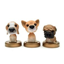 Lovely Bobble Head Dog Car Dashboard Home Decor Gift Doll Bobbing Nodding Nodder