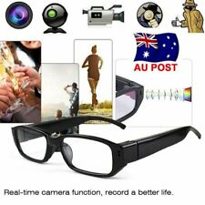 AU Mini HD 1080P/720P Spy Camera Glasses Hidden Eyewear DVR Recorder Camcorder