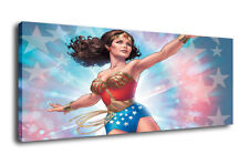 Art Oil Painting Print On Canvas Home Decor Wonder Woman Framed