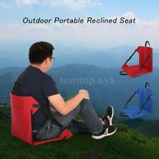 BEACH MAT TOWEL SEAT CHAIR BACK REST camp picnic Foldable Adjustable NEW Z5W1