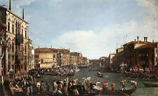 Photo/Poster - Regatta On Grand Canal C - Canaletto 1697 1768