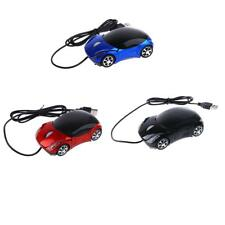 Wired Mouse Car Shaped Game USB Optical Mice for PC Computer 800DPI