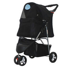 3 Wheeler Elite Jogger Pet Stroller Cat/Dog Easy Walk Folding Travel Carrier