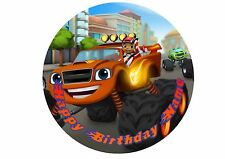 Blaze and the Monster Machines Rice / Wafer Paper or Icing Cake Topper 20cm #5