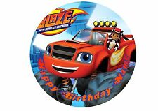 Blaze and the Monster Machines Rice / Wafer Paper or Icing Cake Topper 20cm #7