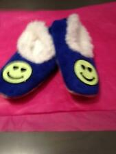 Snoozies Slippers Smiley Face