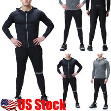 Men Casual Running Sports Pants Slim Fit Trousers Long Jogger Skinny Bottoms USA