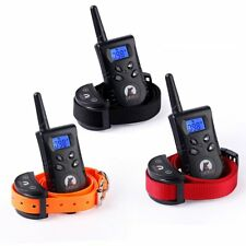 Dog Training Collar With Remote Control Waterproof Electric Vibration No Shock