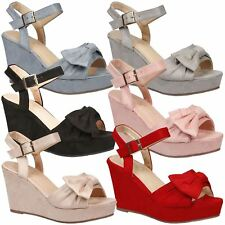 Elora Ladies Shoes High Wedges Heels Platforms Womens Fashion Sandals Shoes Size