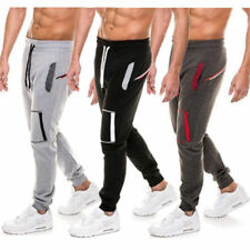 Fashion Mens Sport Long Pants Workout Athletic Jogging Running Casual Trousers G