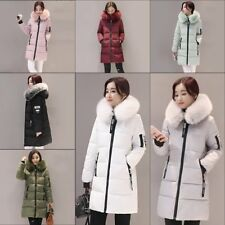 Women's Ultra light Down Hooded Long Jacket Puffer Winter long Parka Coat HY