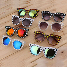 New Fashion Colorful Sunglasses Stars Thick Frame Colorful Film/Gray Lenses YY