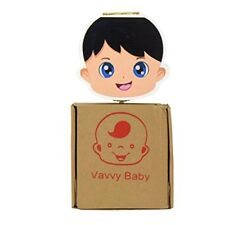 VAVVY BABY Tooth Box for milk teeth -Tooth Fairy Box- keepsake- save organizer