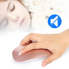 USB Mouse 2.4GHz Wireless Optical Sensor Mice 3-COLORS Rechargeable Work Windows