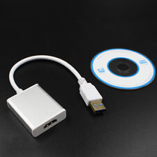 USB 3.0 To HDMI 1080P Video Cable Adapter For PC Laptop Projector HDTV Windows