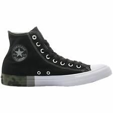 Converse Chuck Taylor All Star Hi Black White Womens Canvas High-top Trainers