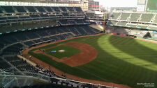 1-4 Cleveland Indians @ Minnesota Twins 2018 Tickets 6/1/18 Sec 304 Row 8!