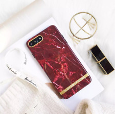 Glossy Soft Silicone Marble Pattern  Shockproof Case For iPhone 6 7 8 Plus New