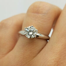 2 CT ROUND CUT DIAMOND SOLITAIRE ENGAGEMENT RING 14K WHITE OR YELLOW GOLD