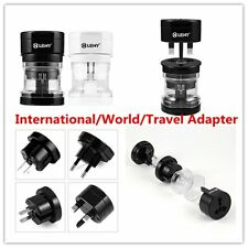Universal Portable UK US AU EU Power Socket Plug Adapter Travel Converter TU