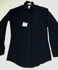 Elbeco Duty Plus Women's Long Sleeve Shirt Dark Navy / size 28