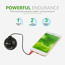 Mini USB Rechargeable Explosion Sound Speaker with Facial Expression Pattern TI