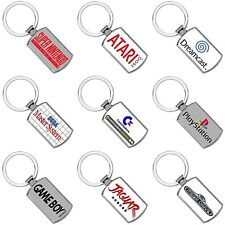 Retro Games Consoles Keyrings - Metal - Logo's - Metal - Gifts - Gaming gifts