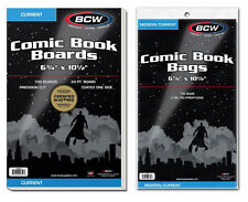BCW Bags & BCW Comic Boards (Current/Silver/Gold/Magazine)