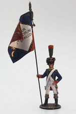 Tin soldier, Semi-Collectile, French Voltigeur №9, light infantry,Napoleon, 54mm
