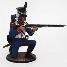 Tin soldier, Semi-Collectile, French Chasseur №1, Ranger, Napoleonic Wars, 54 mm