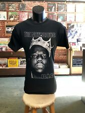 Notorious BIG Crown black T Shirt Bay Island Biggie smalls
