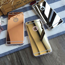Luxury Ultra Thin Anti Scratch Soft Mirror Metal Case For Apple iPhone Models