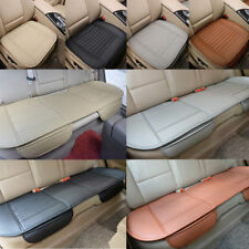 PU Leather Auto Car Seat Cover Pad Mat Breathable Chair Cushion 1pcs&3pcs