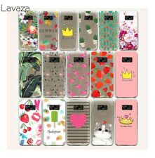hard Case Flower Fruit animal cat cover for Samsung Galaxy S7 S6 Edge S9 S8 Plus