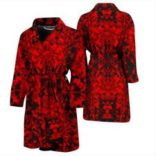 Bath Robes Mens Womens RED CAMOUFLAGE No Boring Bath Robes! COMBO DEALS