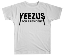 Kanye West Yeezy Yeezus For President White Short-Sleeve T-Shirt
