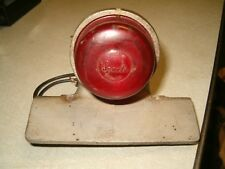 Vintage Sparto Tail Light w' Original Lens, BSA Triumph Harley HD Bobber Chopper