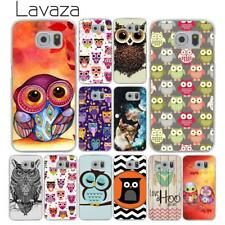 Cat design pattern Case Covers Hard for Galaxy Samsung S6 S7 Edge S8 S9 Plus