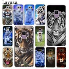 For Galaxy Samsung S6 S7 Edge S8 S9 Plus Tiger Cover Mobile Case Hard Animal