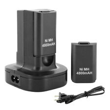 2x 4800mAh Rechargeable Battery USB Charger Dock Pack for Xbox360 Joystick EU/US