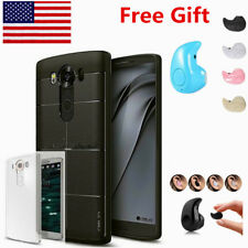 "LG V10 H900 AT&T Unlocked 64GB 16MP 5.7"" 4GB RAM 4G LTE Smartphone BL Headphone"