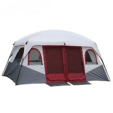 Large Outdoor Tent Waterproof Family Cabin Camping-Tent Double Layer 8-12 Person