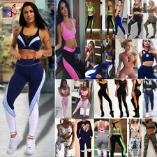 Women Yoga Fitness Leggings Running Capris For Sports High Waist Pants Trousers