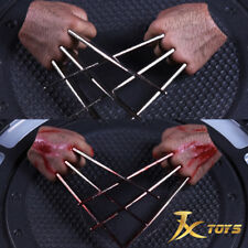 1/6 Wolverine Claw Model Grip Steel Claw Hand Normal/Blood F12'' HT body Figure
