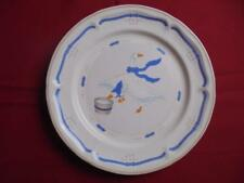 Set of 4 Newcor Stoneware Countryside Dinner Plates