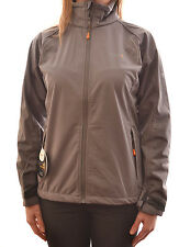 REGATTA LADIES PEARLE SOFTSHELL JACKET FIREWOOD GREY RWL007 D1
