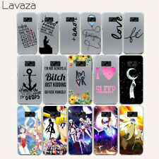For Samsung S6 S8 S9 Plus Galaxy S7 Edge Case Cover Fashion Skin Covers N0243
