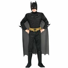 Batman Dark Knight Deluxe Muscle Chest Batman Child Costume by Rubies