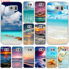 Hard Case Cover pattern for Samsung Galaxy S7 S6 Edge S8 S9 Plus Sea beautiful